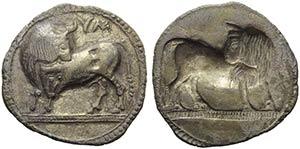 Southern Lucania, Sybaris, c. 550-510 BC. AR ...