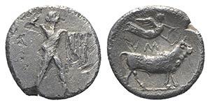 Southern Lucania, Sybaris, c. 453-448 BC. AR ...