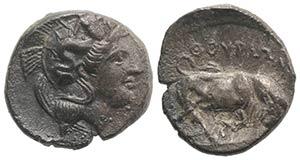 Southern Lucania, Thourioi, c. 400-350 BC. ...