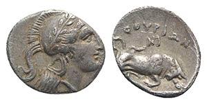 Southern Lucania, Thourioi, c. 350-300 BC. ...