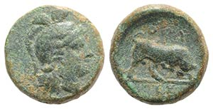 Southern Lucania, Thourioi, c. 415-400 BC. ...