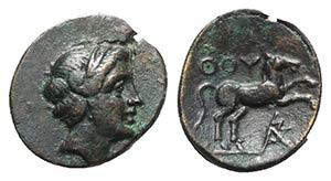 Southern Lucania, Thourioi, c. 280-213 BC. ...
