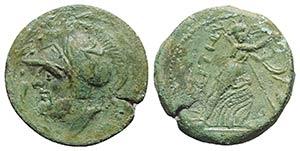 Bruttium, The Brettii, c. 211-208 BC. Æ ...