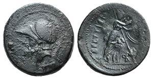 Bruttium, The Brettii, c. 208-203 BC. Æ ...