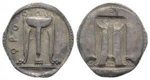 Bruttium, Kroton, c. 530-500 BC. AR (30mm, ...
