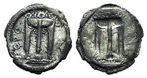 Bruttium, Kroton, c. 530-500 BC. AR Third ...