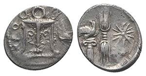 Bruttium, Kroton, c. 400-350 BC. AR Triobol ...