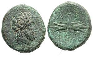 Bruttium, Lokri Epizephrioi, c. 300-268 BC. ...