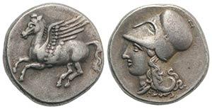 Bruttium, Medma, 330-317 BC. AR Stater ...
