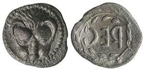 Bruttium, Rhegion, c. 510 BC. AR Obol (10mm, ...