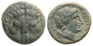 Bruttium, Rhegion, c. 351-280 BC. Æ ...