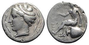Bruttium, Terina, c. 440-425 BC. AR Stater ...