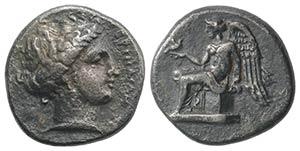 Bruttium, Terina, c. 420-400 BC. AR Stater ...