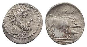 Sicily, Abakainon, c. 420 BC. AR Litra ...