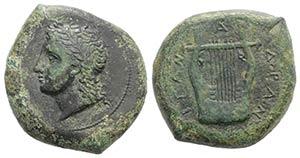 Sicily, Adranon, c. 354-344 BC. Æ ...