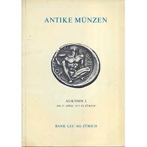 BANK LEU AG. Auction 2. Zurich, 25 – ...