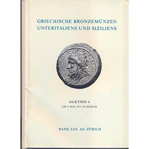 BANK LEU AG. – Auktion 6. Zurich, 8 – ...