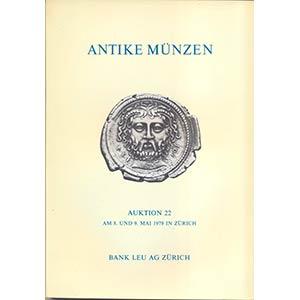 BANK LEU AG. – Auction 22. Zurich, 8 – ...