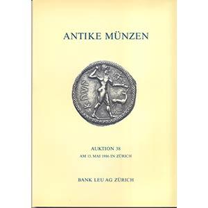 BANK LEU AG. – Auction 38. Zurich, 13 – ...