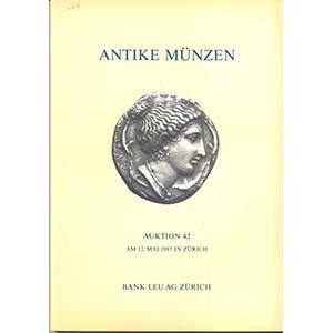 BANK LEU AG. – Auction 42. Zurich, 12 – ...