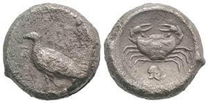 Sicily, Akragas, c. 495-480/78 BC. AR ...