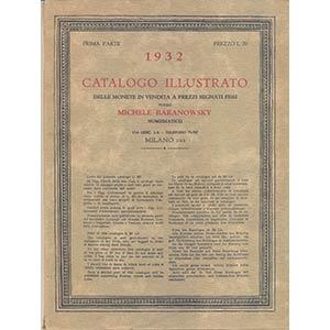 BARANOWSKY M. – Milano, 1932. I parte. ...