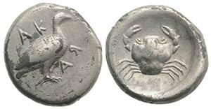 Sicily, Akragas, c. 480/478-470 BC. AR ...