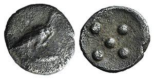 Sicily, Akragas, c. 460-446 BC. AR ...