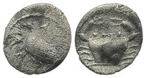 Sicily, Akragas, c. 425-406 BC. AR Litra ...