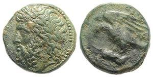 Sicily, Akragas, c. 338-317/287 BC. Æ ...