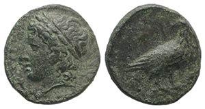 Sicily, Akragas. Phintias (287-279 BC). Æ ...