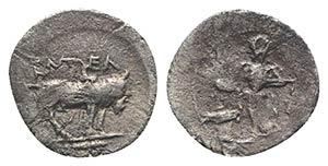 Sicily, Entella. Elymian issues, c. 440-430 ...