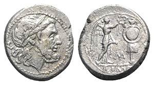 C/M series, Sicilian mint, 211-208 BC. AR ...