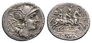 Trident series, Rome, 206-195 BC. AR ...
