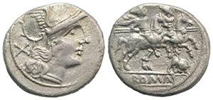 Bull series, Rome, 206-195 BC. AR Denarius ...