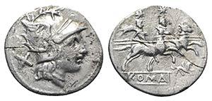 Gryphon series, Rome, 169-158 BC. AR ...