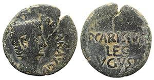 Augustus (27 BC-AD 14). Æ As (26mm, 7.81g, ...
