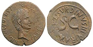 Augustus (27 BC-AD 14). Æ As (27mm, 9.94g, ...