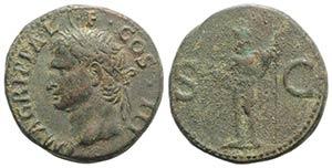 Agrippa (died 12 BC). Æ As (28mm, 12.48g, ...