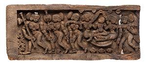 RILIEVO IN LEGNO India, fine XVIII secolo  ...