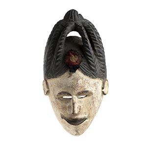 MASCHERA IN LEGNO DIPINTO Nigeria, Igbo  37 ...