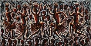 MWENZE KIBWANGA (1925-1999)  La danza, 1968 ...