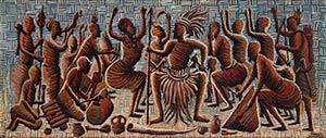 MWENZE KIBWANGA (1925-1999)  La danza per il ...