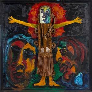 VITTORIO BELLINI (1936-2009)  Crocifissione ...