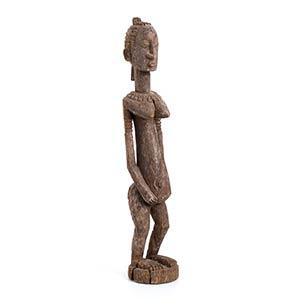 FIGURA IN LEGNO   Mali, Dogon  55 cm altezza ...
