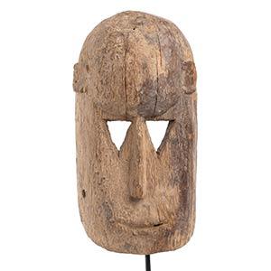 A WOOD MASK Mali, Dogon  30 cm ...