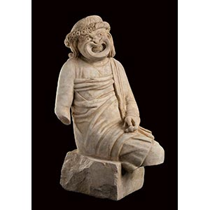 ROMAN MARBLE COMIC ACTOR STATUE 1st - 2nd ...