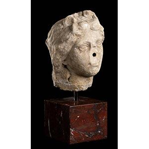 ROMAN MARBLE HEAD OF VENUS 1st - 2nd century ...