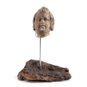 ROMAN MARBLE HEAD OF EROS 1st - 2nd century ...