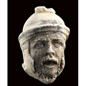 ROMAN MARBLE HEAD OF A SOLDIER 2nd - 3rd ...